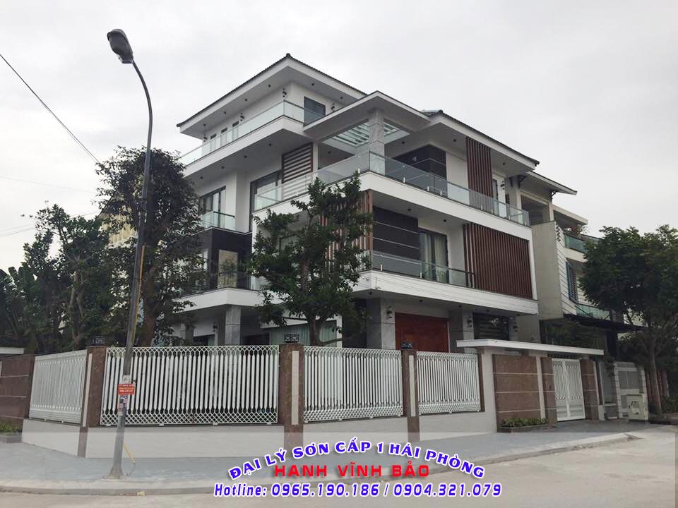Công trình sơn nhà trọn gói của Quang Hanh Tín Phát